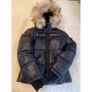 55b43d95427d Girls Dark Blue SAM Jacket Size 14
